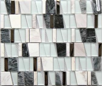 Mosavit mosaic Asi Gris mini