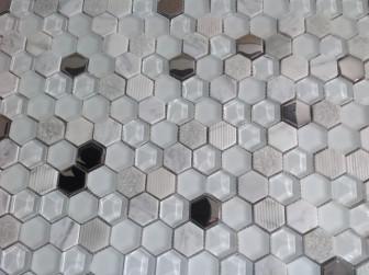 Mosavit mosaic Exa Blanco mini