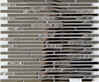 Mosavit mosaic Lluvia Inox mini