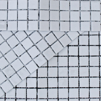 Kitchen mosaic tiles MC 402 Gris Claro mini