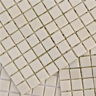 Kitchen mosaic tiles MC 501 Marfil mini