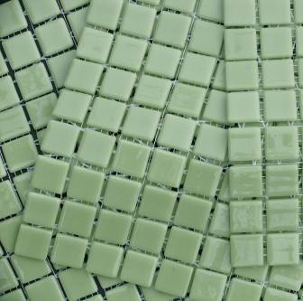 Kitchen mosaic tiles MC 302 Verde Claro mini
